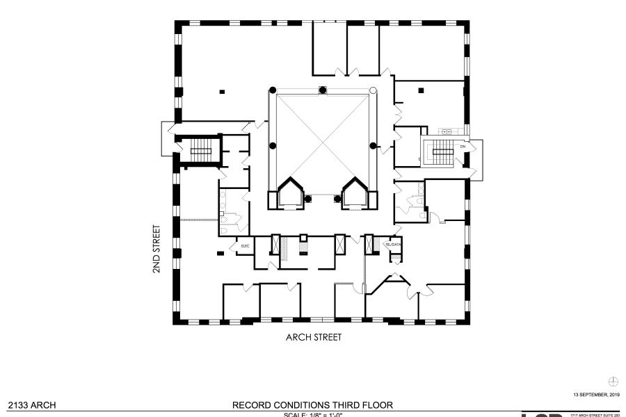 2133 Arch street floorplan