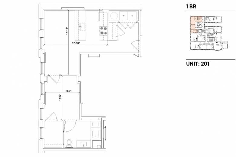 1201 N. Charles sample 1BR floorplan_201