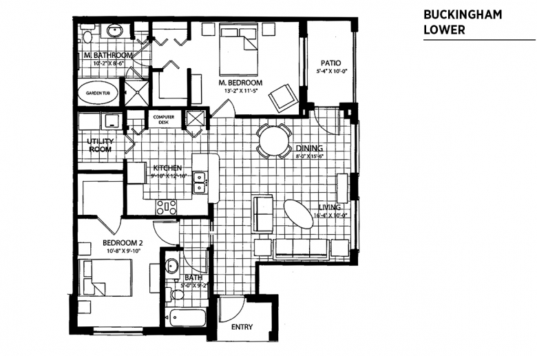 EAS Sample 2BR floorplan_Buckingham