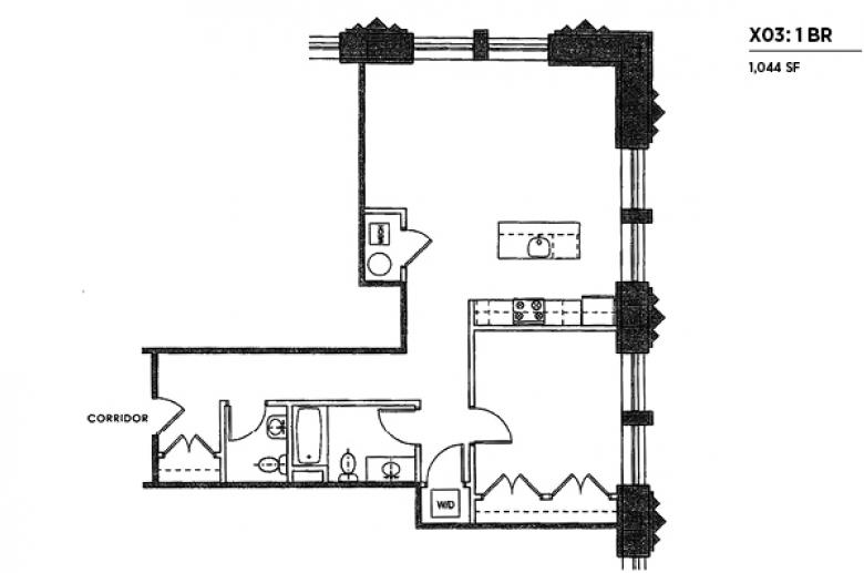 2100 Parkway X03 floor plan