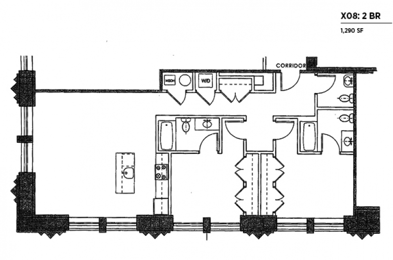 2100 Parkway X08 floor plan