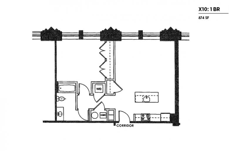 2100 Parkway X10 floor plan