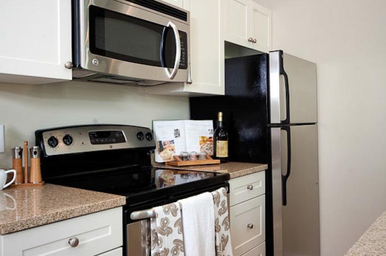 1201 N Charles modern kitchen