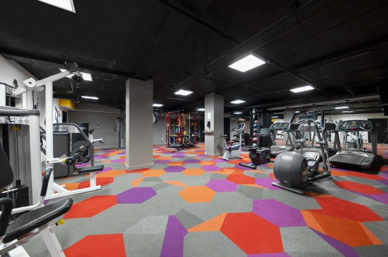 On-site gym