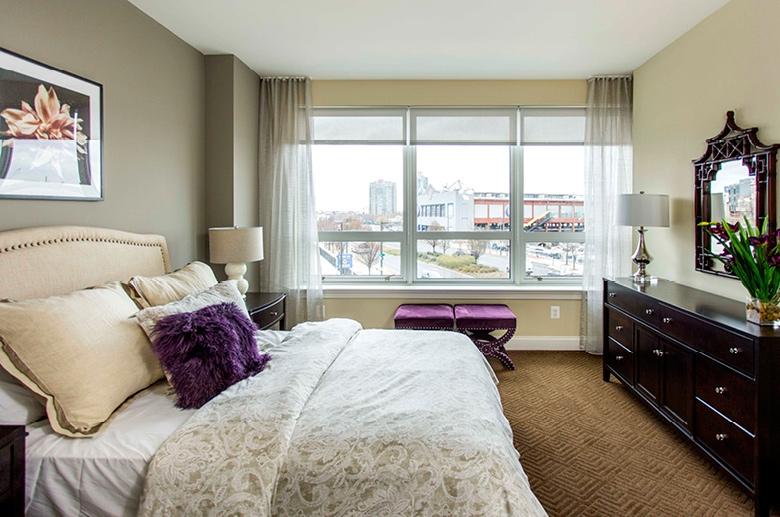 One Water Street bedroom