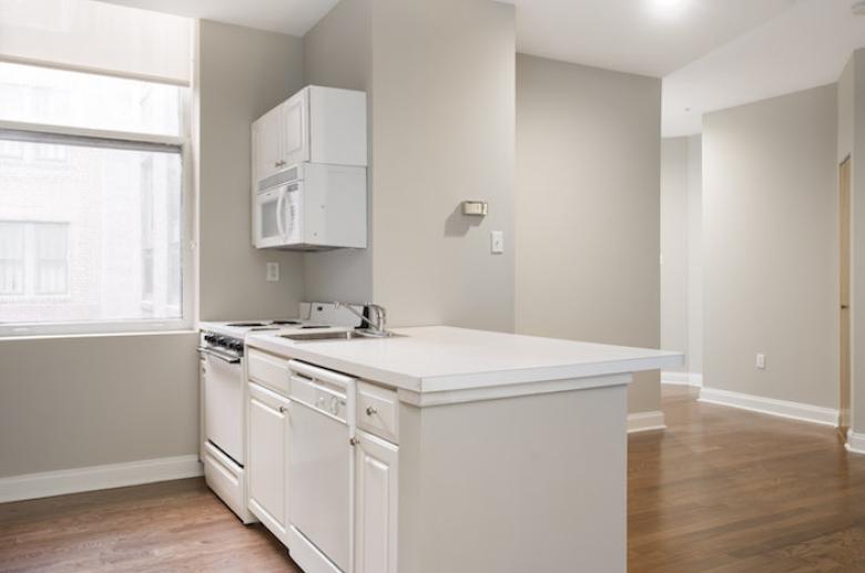 Kitchen with modern touches