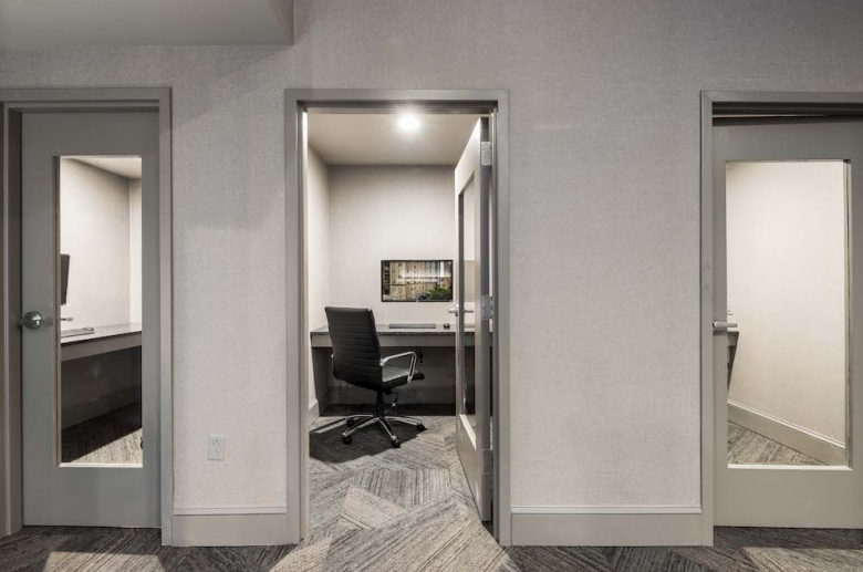 Private co-working space