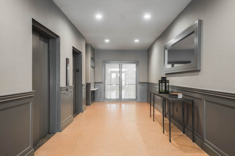 Modern decoration and elevators