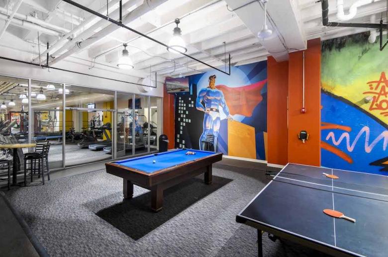 3600 West Broad billiards table