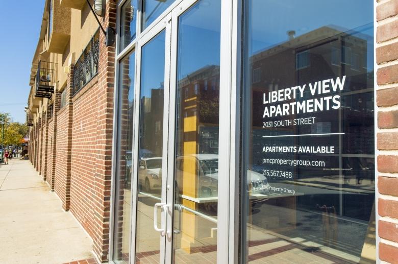 Liberty View Entrance