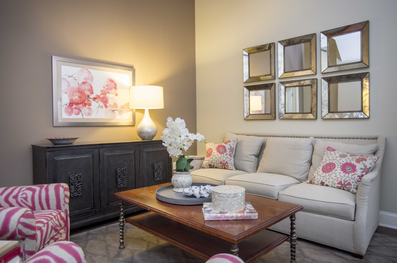 Inviting room layouts