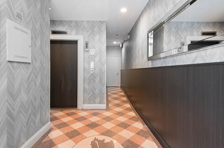 Elevators at Empire Apartments