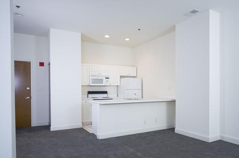 Empire Apartments kitchen