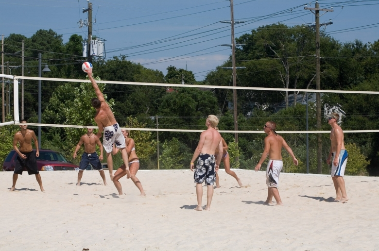 Olympia Mill_volleyball court
