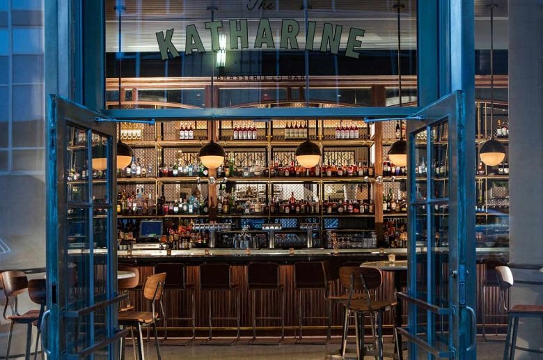 The Katherine, an on-site restaurant and bar