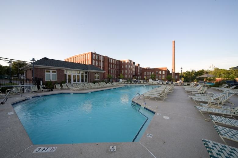 Olympia Mill pool