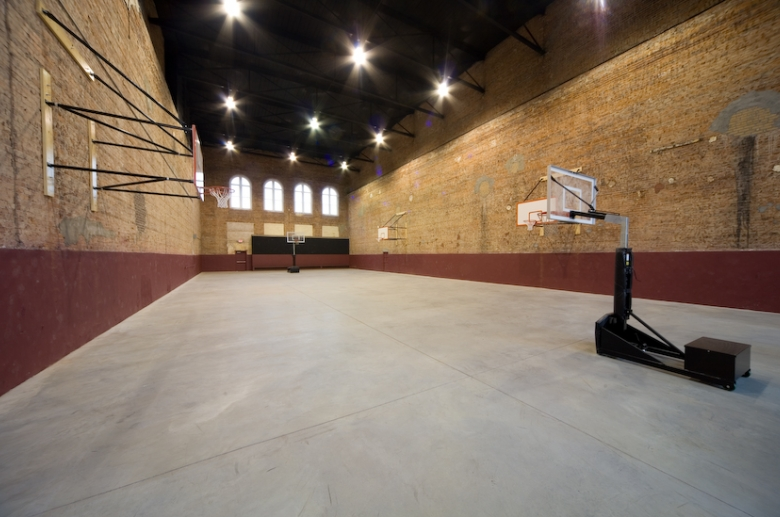 Granby Mills basketball court