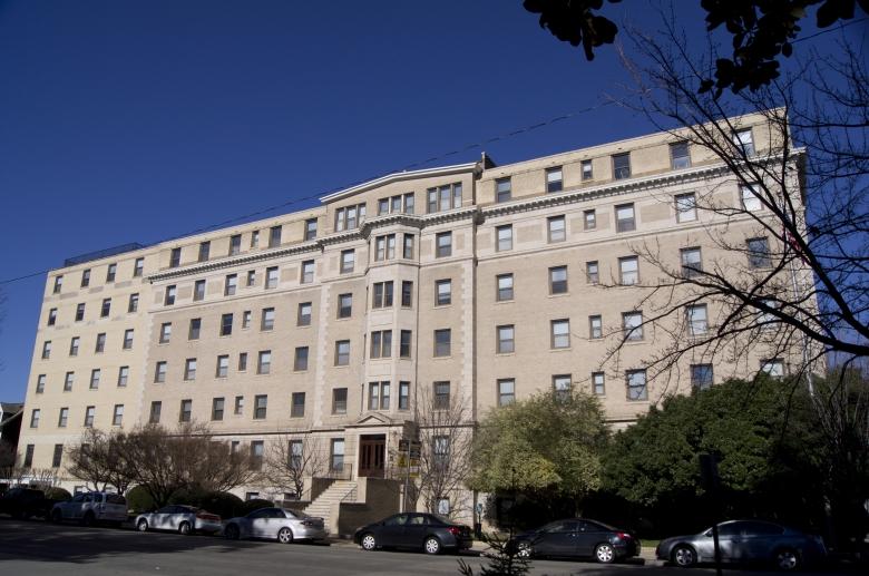 Kensington Court facade