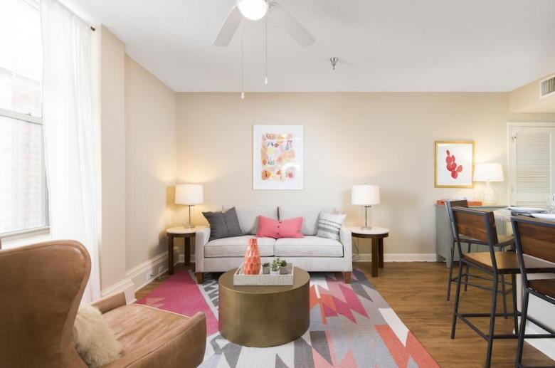 Kensington Court living space