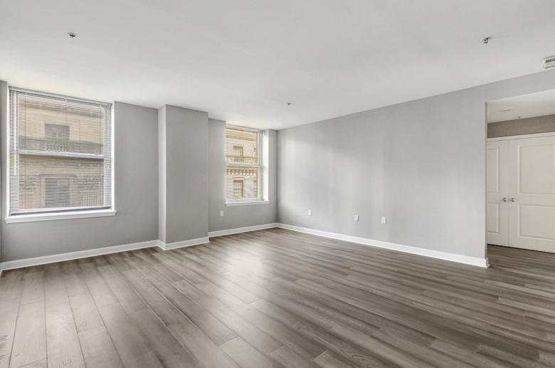 Living spaces with abundant windows