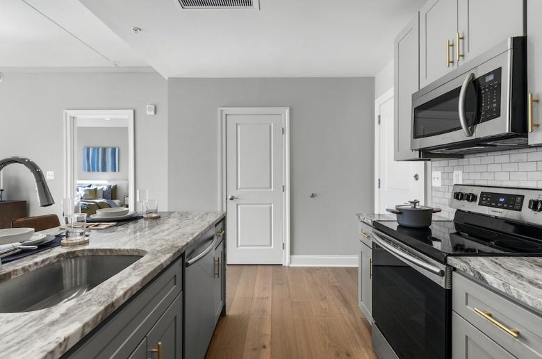 Kitchen work space