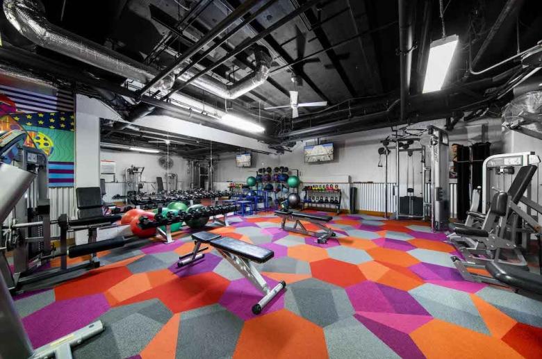2100 Parkway strength training equipment