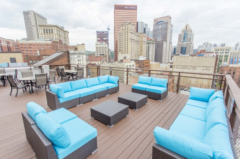 Stunning rooftop views