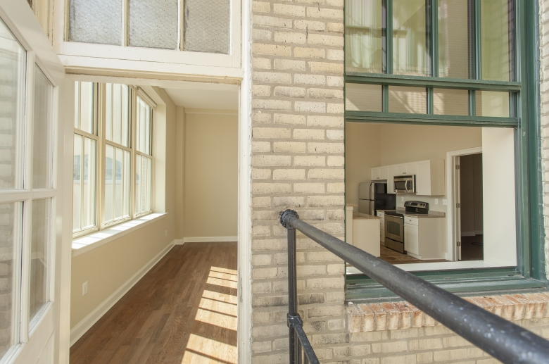 Abundant windows and natural light