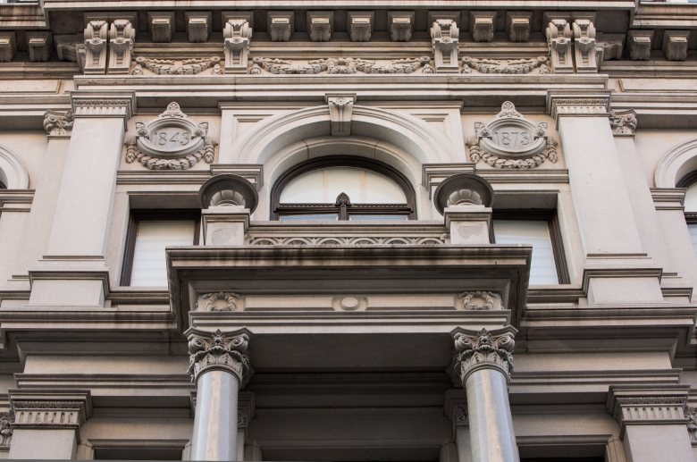 Victory architectural detail 1
