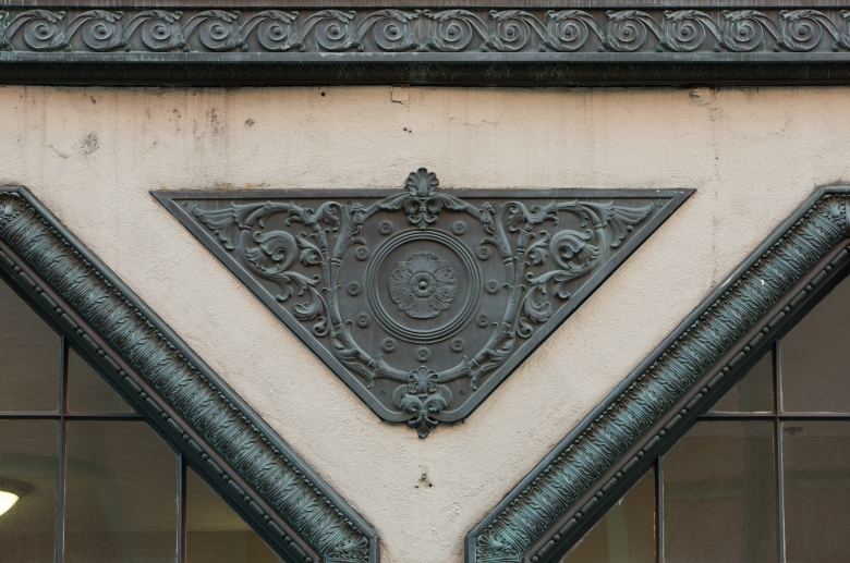 1220 Sansom architetural detail