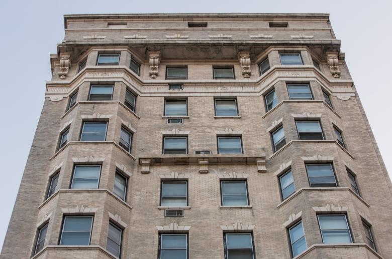 Midtown Apartment exterior closeup