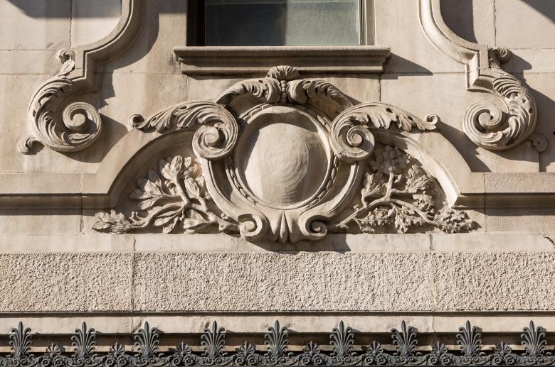 1300 Chestnut architectural detail
