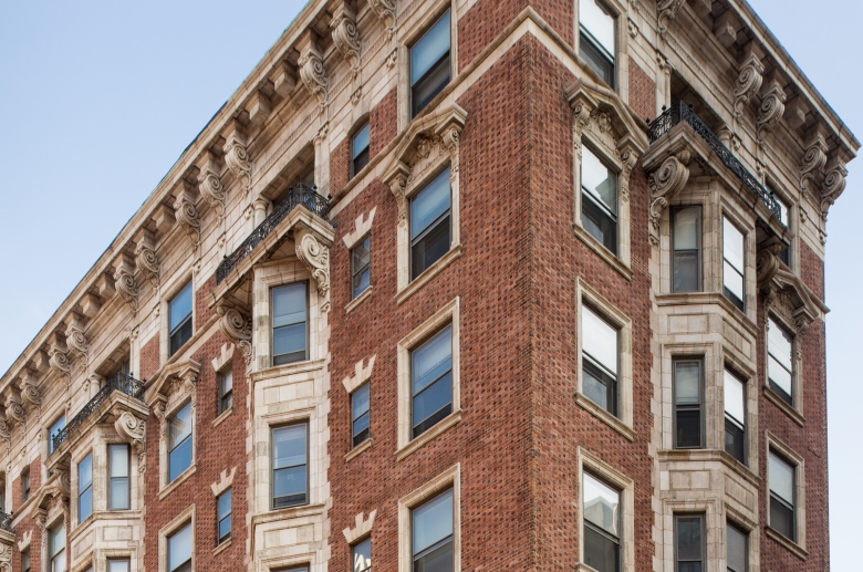 Empire Apartments angled exterior