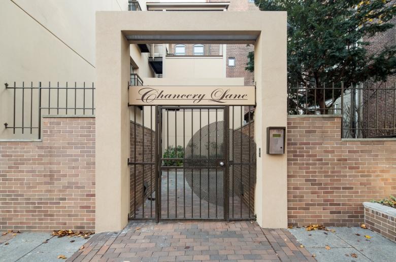 Chancery Lane gated courtyard