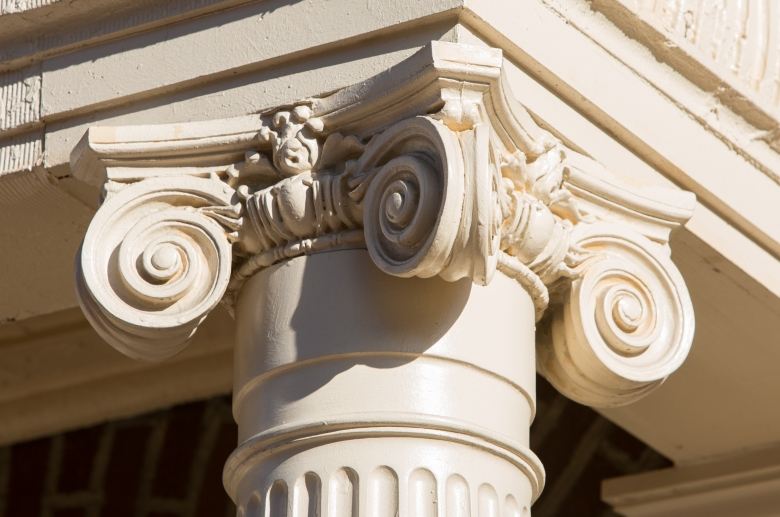 1201 N. Charles architectural detail