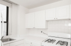 Kitchen featuring gas stove