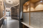 Mailboxes at 1222 Arch Street lobby