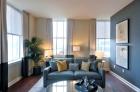 The Residences at The R. J. Reynolds Building Winston-Salem living room
