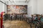 Resident bicycle storage room