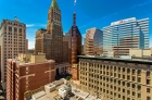 Roof deck views of Baltimore