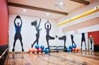 Complimentary and yoga fitness room
