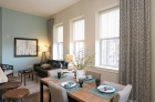 301 North Charles living spaces