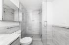 Modern marble bathroom