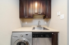 In-unit laundry space