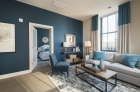 Furnished model living space