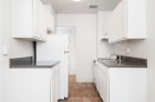 Bright, fully-equipped kitchens