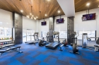 Fully-furnished on-site fitness center