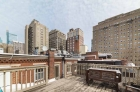 Resident rooftop deck