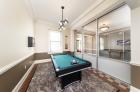 Kensington Court lounge with billiards