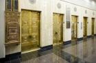Elevator bank